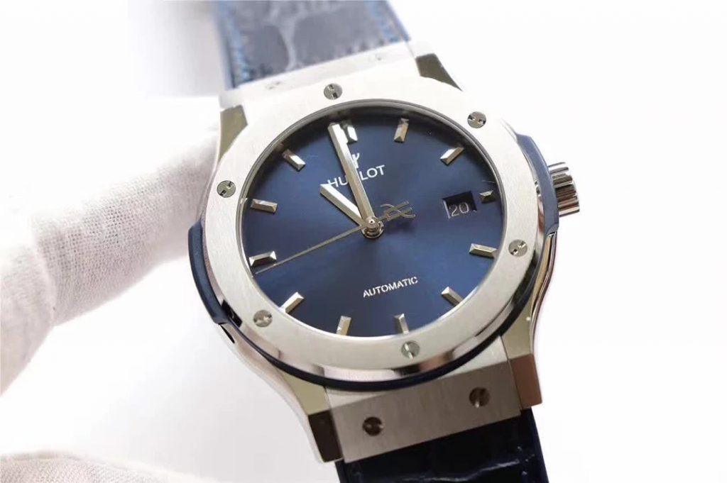Replica Hublot Classic Fusion Titanium Blue