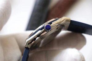 Replica Hublot Titanium Blue Crown