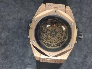 Replica Hublot Sang Bleu Rose Gold